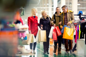 Идти на шопинг