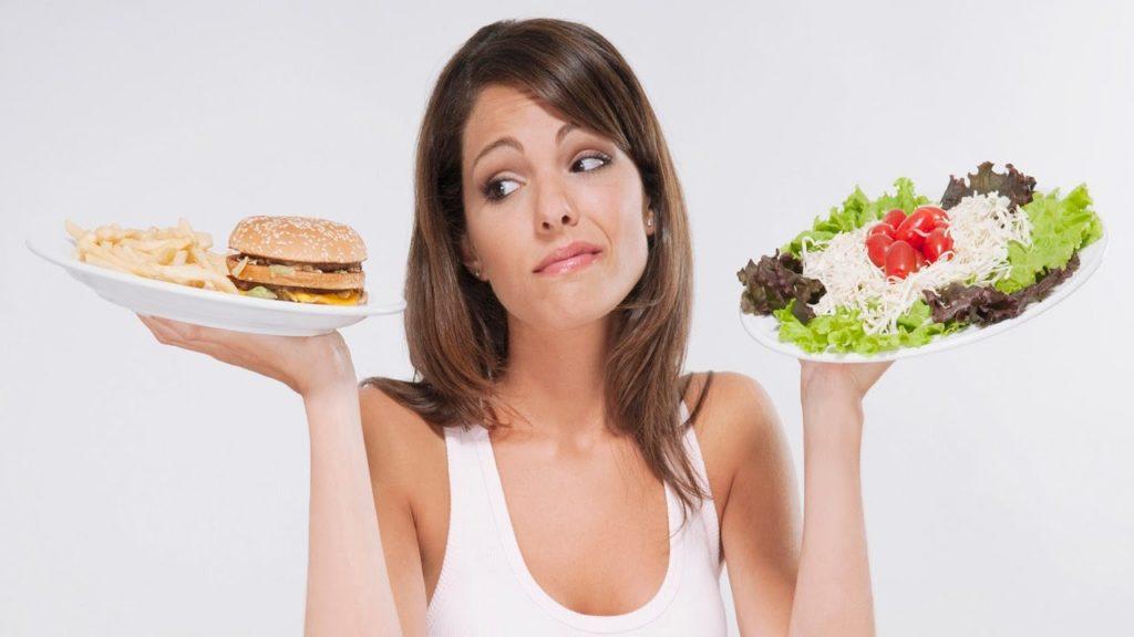 Рекомендуемое потребление калорий для женщин