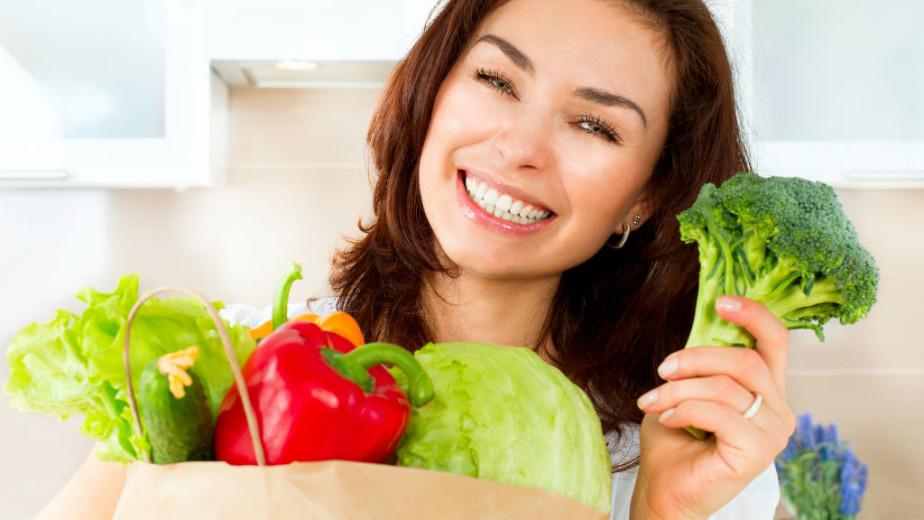 Вегетарианская диета помогает поддерживать хорошее настроение