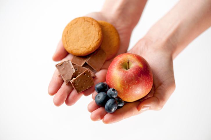 Правильное питание в течение дня