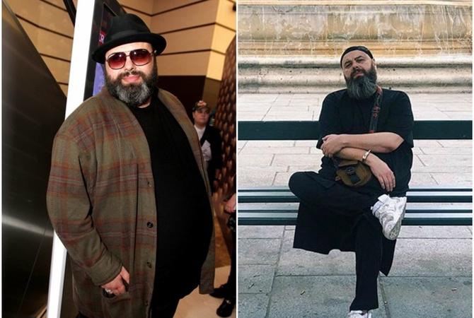 Максим Фадеев похудел - минус 70 килограммов