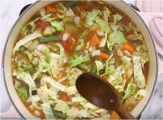 Постный суп с перловой крупой